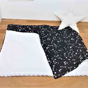 שמיכה לתינוק כוכבים